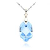 Light Blue Swarovski Crystal Pendant